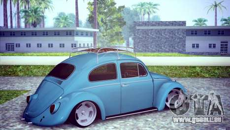 Volkswagen Beetle 1966 pour GTA San Andreas vue de droite