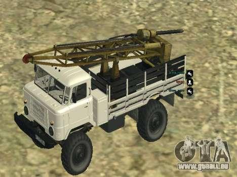66 Gas Bohren für GTA San Andreas Motor