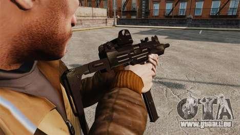 Taktische Uzi-v3 für GTA 4 Sekunden Bildschirm