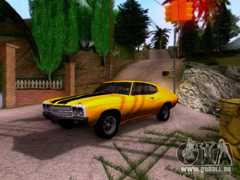 Chevrolet Chevelle SS 1970 pour GTA San Andreas