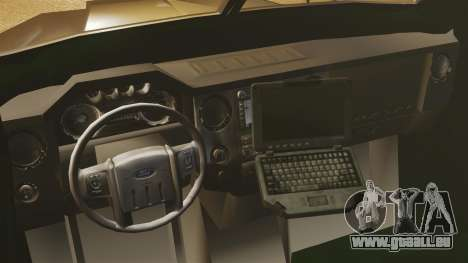 LENCO Bearcat gepanzerte LSPD GTA V für GTA 4 Innenansicht