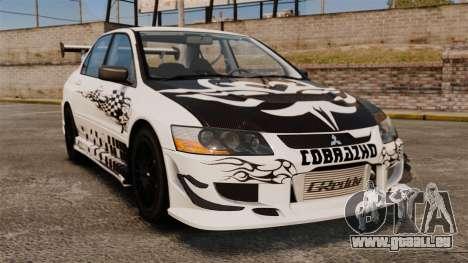 Mitsubishi Lancer Evolution VIII MR CobrazHD pour GTA 4