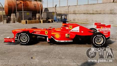 Ferrari F138 2013 v4 pour GTA 4 est une gauche