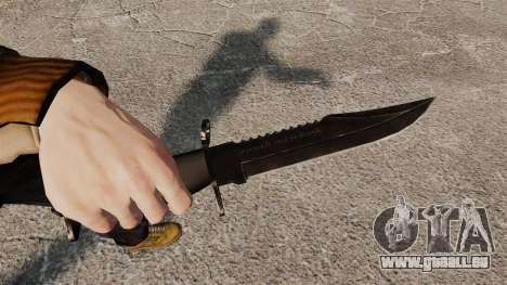 Le couteau de l'Alabama Slammer noir pour GTA 4