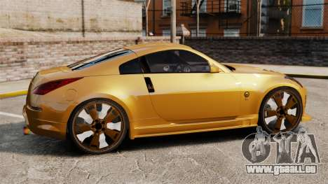 Nissan 350Z Tuning für GTA 4 linke Ansicht