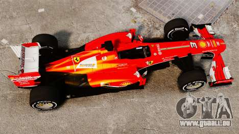 Ferrari F138 2013 v4 pour GTA 4 est un droit