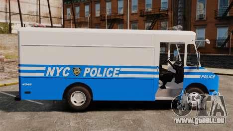 Chevrolet Step-Van 1985 NYPD pour GTA 4 est une gauche