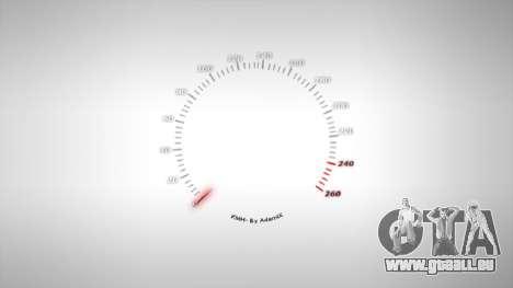 Compteur de vitesse AdamiX v1 pour GTA 4