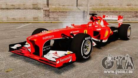 Ferrari F138 2013 v4 pour GTA 4