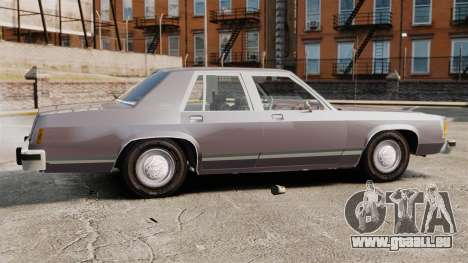 Ford LTD Crown Victoria für GTA 4 linke Ansicht