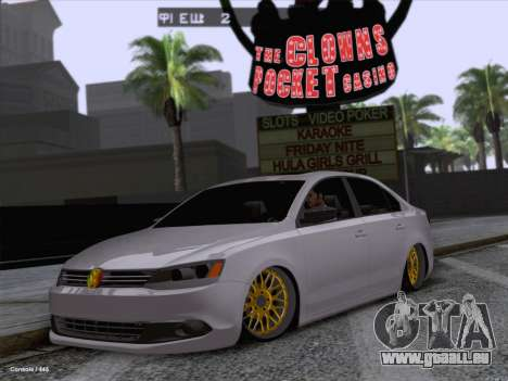 Volkswagen Jetta Rasta für GTA San Andreas