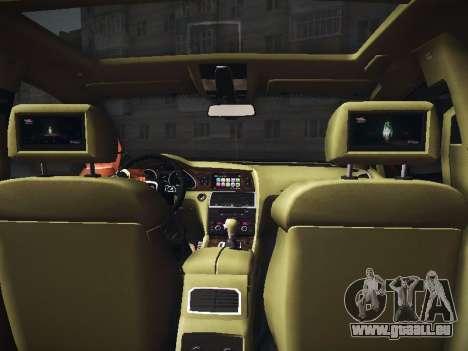 ABT AS7 V1.0 2009 pour GTA San Andreas vue intérieure
