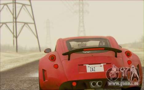 Wiesmann GT MF5 2010 für GTA San Andreas rechten Ansicht