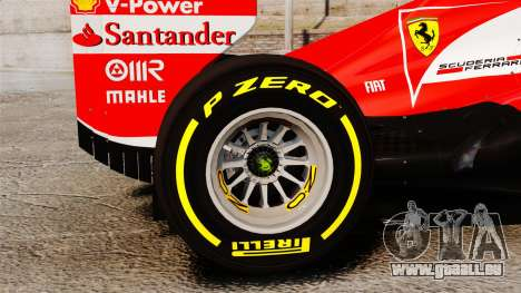 Ferrari F138 2013 v5 pour GTA 4 Vue arrière