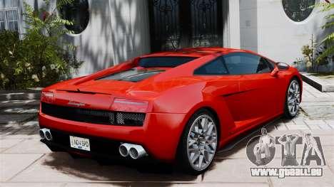 Lamborghini Gallardo LP560-4 [Final] v2 pour GTA 4 Vue arrière de la gauche