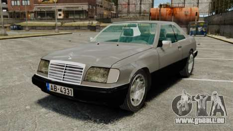 Mercedes-Benz W124 Coupe pour GTA 4