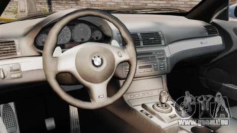 BMW M3 E46 v1.1 für GTA 4 Innenansicht