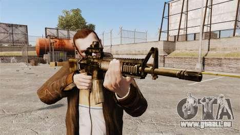 Die M16A4 rifle für GTA 4 dritte Screenshot
