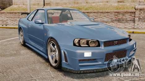 Nissan Skyline R34 GT-R Z-tune für GTA 4