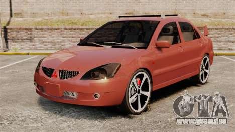 Mitsubishi Lancer Evolution IX 1.6 für GTA 4