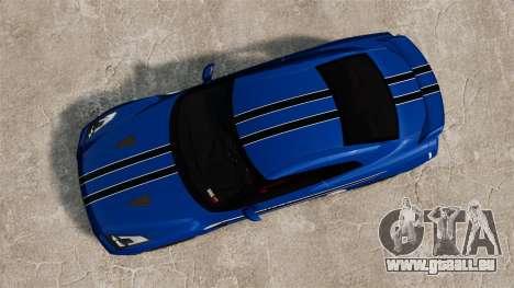 Nissan GT-R 2012 Black Edition AMS Alpha 12 für GTA 4 Rückansicht