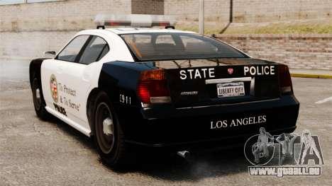 Buffalo Police Officer LAPD v2 für GTA 4 hinten links Ansicht