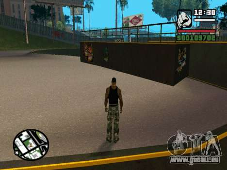 New BMX Park v1.0 für GTA San Andreas sechsten Screenshot