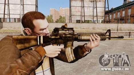 Die M16A4 rifle für GTA 4