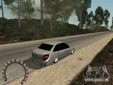 VAZ 2190 für GTA San Andreas rechten Ansicht