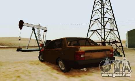 Fiat Duna für GTA San Andreas zurück linke Ansicht