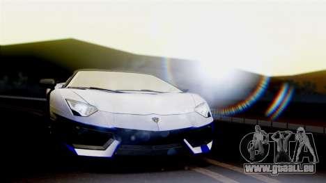 Lamborghini Aventador LP760-2 2013 pour GTA San Andreas laissé vue