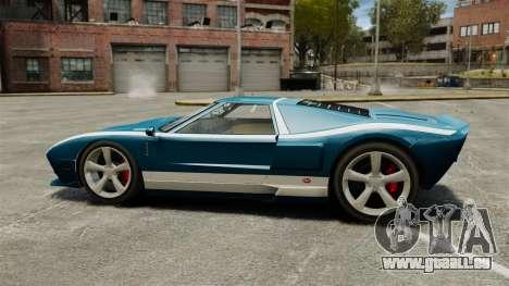 Neue Bullet GT für GTA 4 linke Ansicht