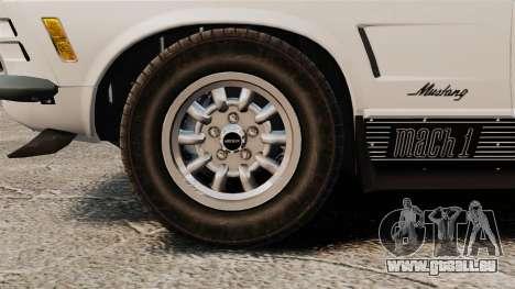 Ford Mustang Mach 1 Twister Special für GTA 4 Rückansicht