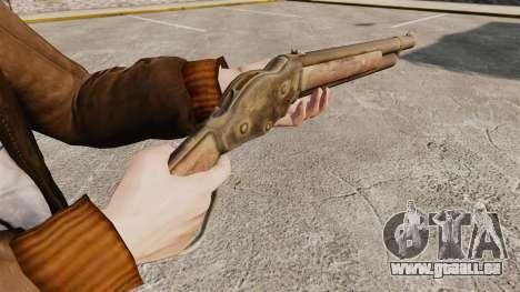 Winchester Model 1887 pour GTA 4 secondes d'écran