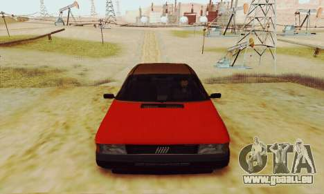 Fiat Duna für GTA San Andreas Rückansicht