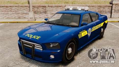 NLSP Buffalo für GTA 4 Rückansicht