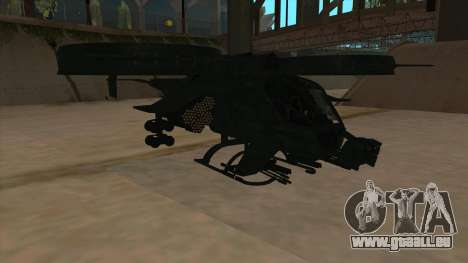 AT-99 Scorpion Gunship from Avatar für GTA San Andreas linke Ansicht