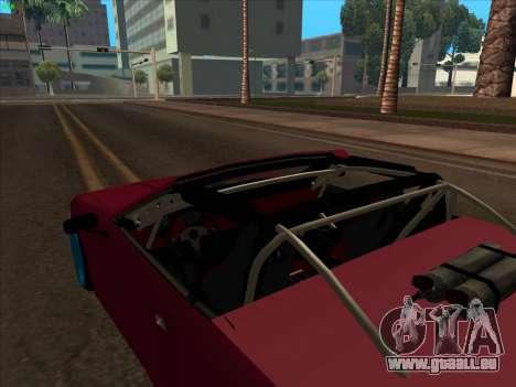 Elegy pickup by KaMuKaD3e pour GTA San Andreas vue de côté
