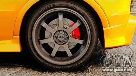 Honda Civic Type-R (FN2) pour GTA 4 Vue arrière