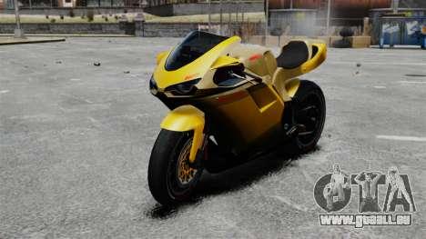 Ducati 848 pour GTA 4
