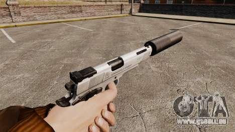 Pistolet Colt 1911 pour GTA 4 secondes d'écran