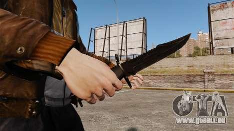 Le couteau de l'Alabama Slammer noir pour GTA 4 secondes d'écran