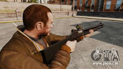 Taktische Schrotflinte Fabarm SDASS Pro Forces v für GTA 4 Sekunden Bildschirm