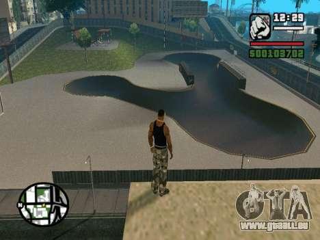 New BMX Park v1.0 für GTA San Andreas