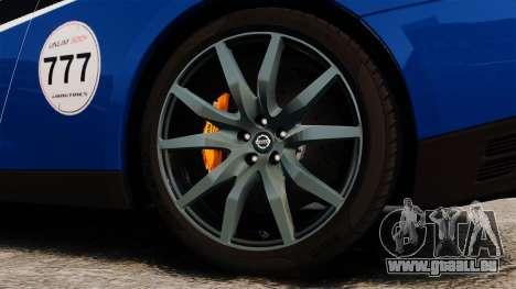 Nissan GT-R 2012 Black Edition AMS Alpha 12 pour GTA 4 est une vue de l'intérieur