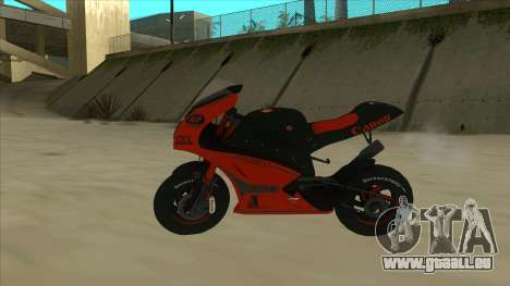 RP Motorsport Yamaha M1 für GTA San Andreas linke Ansicht