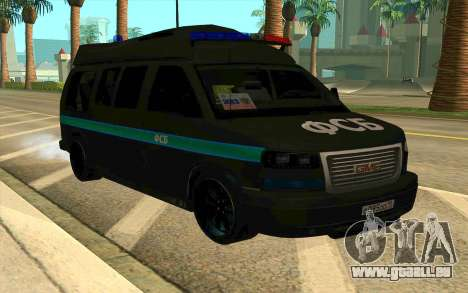 GMC Savana AWD FSB pour GTA San Andreas