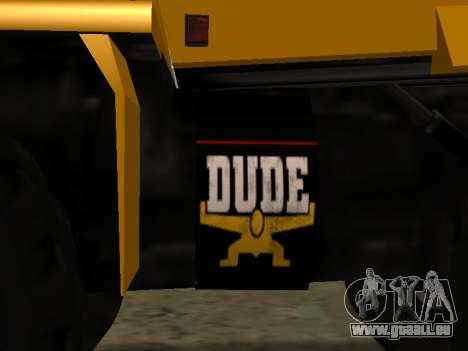 Nouveau Dumper pour GTA San Andreas vue intérieure