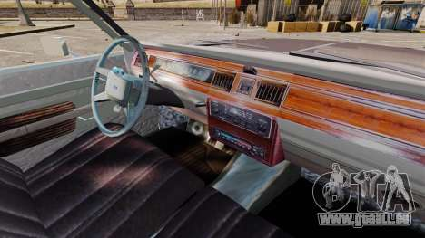 Ford LTD Crown Victoria pour GTA 4 Vue arrière