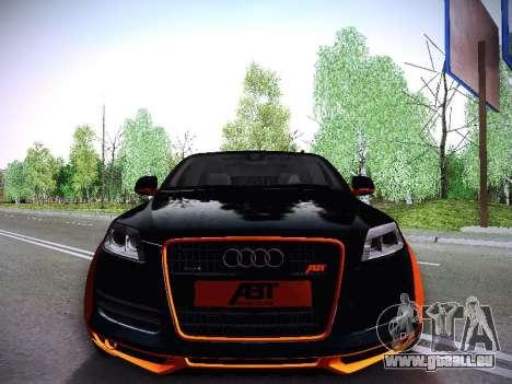ABT AS7 V1.0 2009 pour GTA San Andreas sur la vue arrière gauche